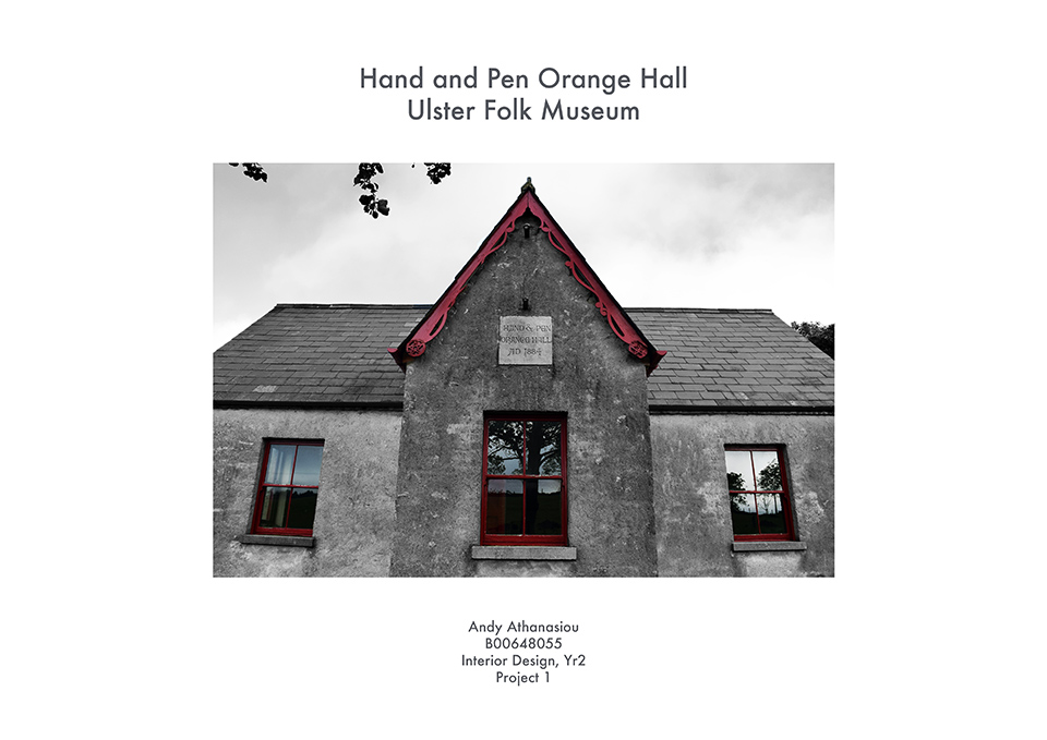 Hand and Pen Orange Hall