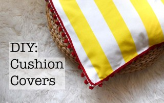 DIY Cushion covers