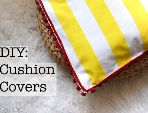 DIY: Cushion Covers